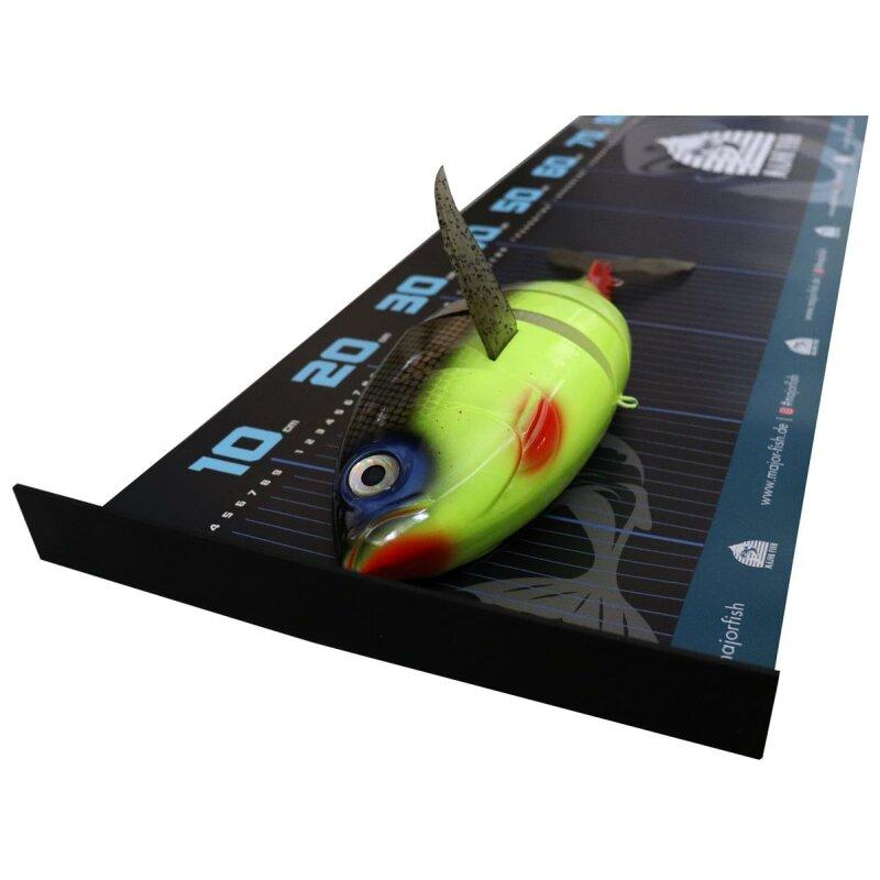 Major Fish Fisch Ma/ßband XL Ruler 140 cm x 30 cm mit Anschlag