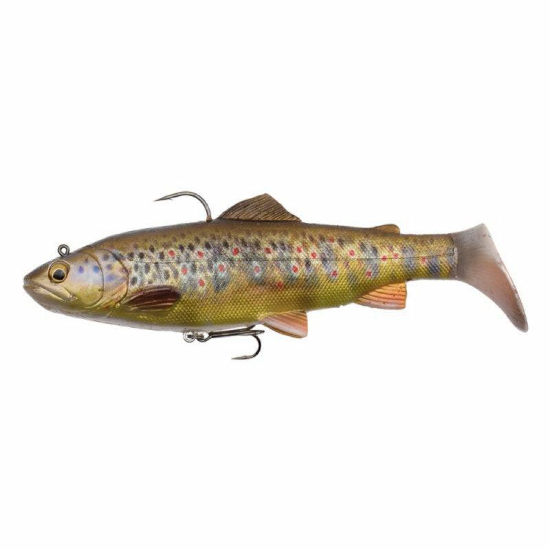 17 cm Dark Brown Trout