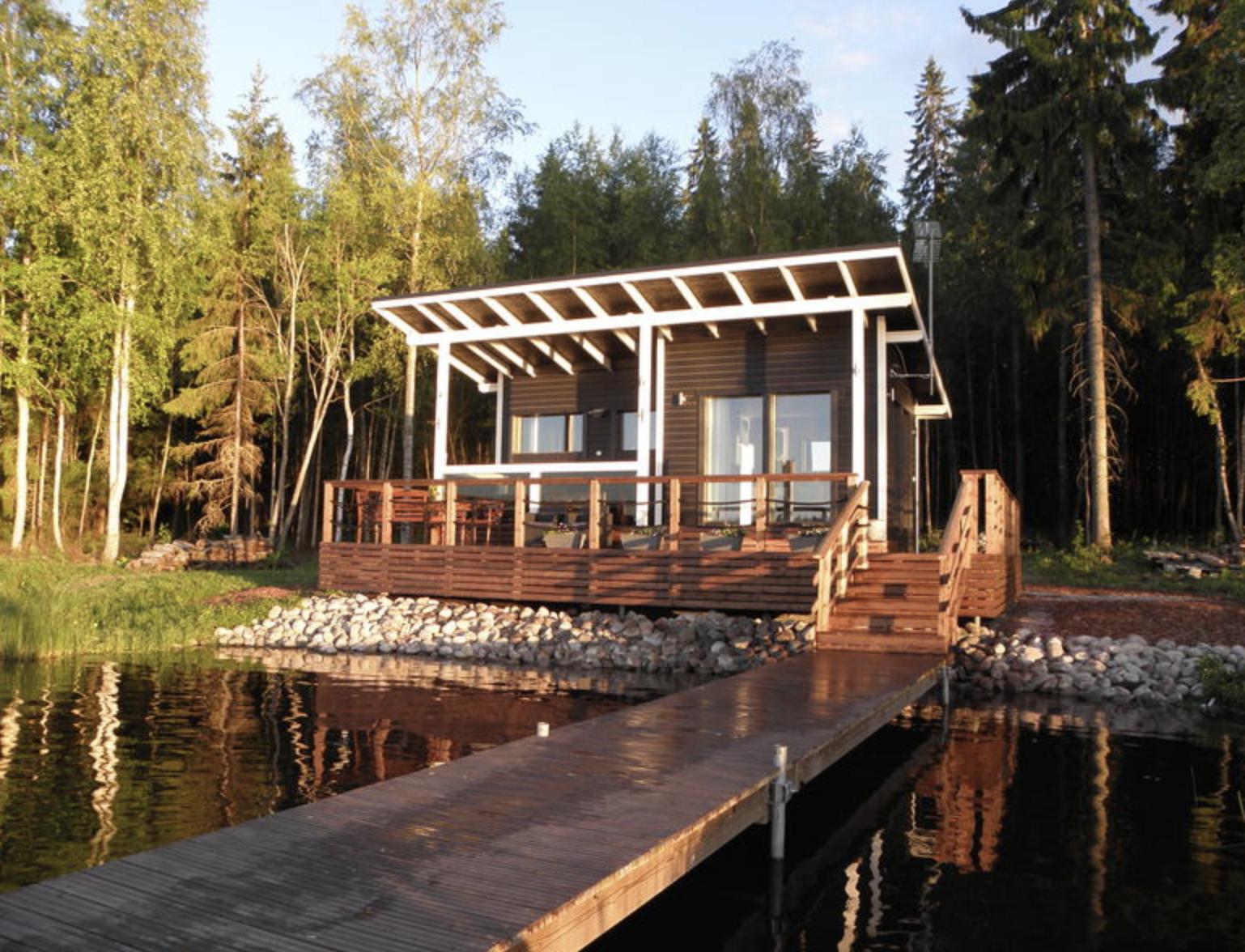 finnisches Ferienhaus zum Angeln
