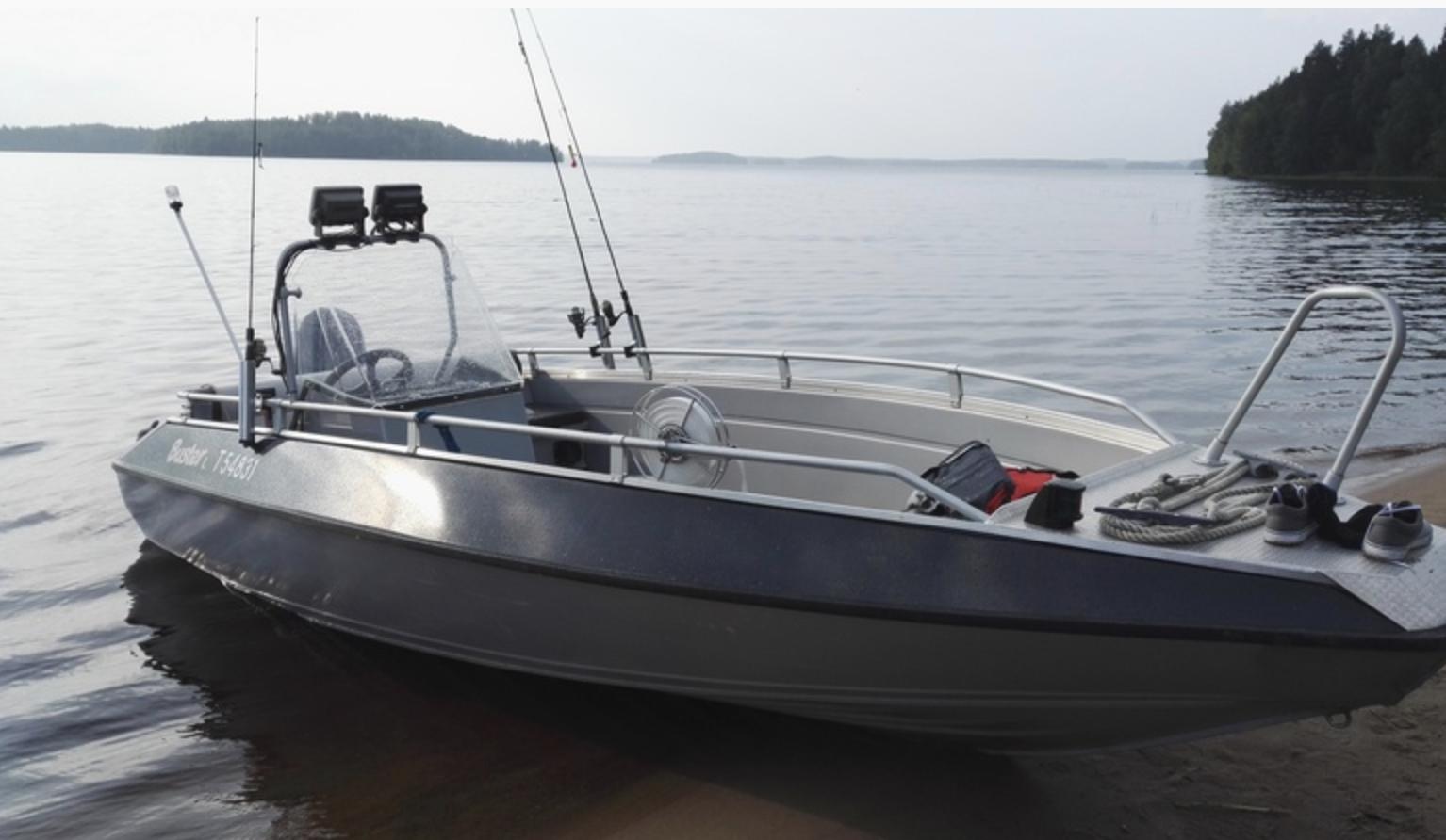 Buster L Boot zum Angeln in Finnland mieten